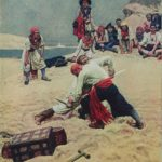 Pirates fighting for Treasure
