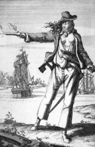 Anne Bonny Fearsome Woman Pirate